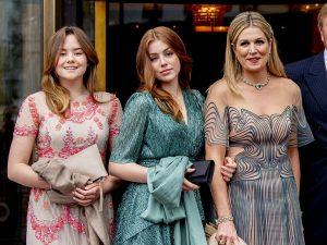 Las hijas de Máxima de Holanda se pasan con el maquillaje en el cumpleaños de su madre