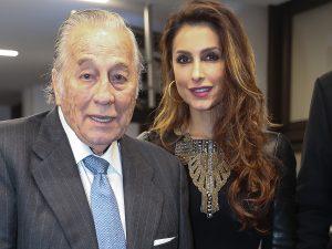 Paloma Cuevas y el fiestón que organiza a su padre, Victoriano Valencia, por su 90 cumpleaños