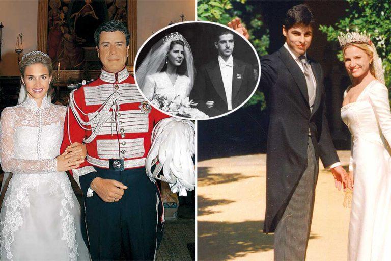 Las bodas de la familia Alba, dignas de la realeza, foto a foto