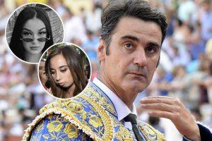 Jesulín de Ubrique se reúne por fin con sus dos hijas, Andrea y Julia Janeiro, en Madrid
