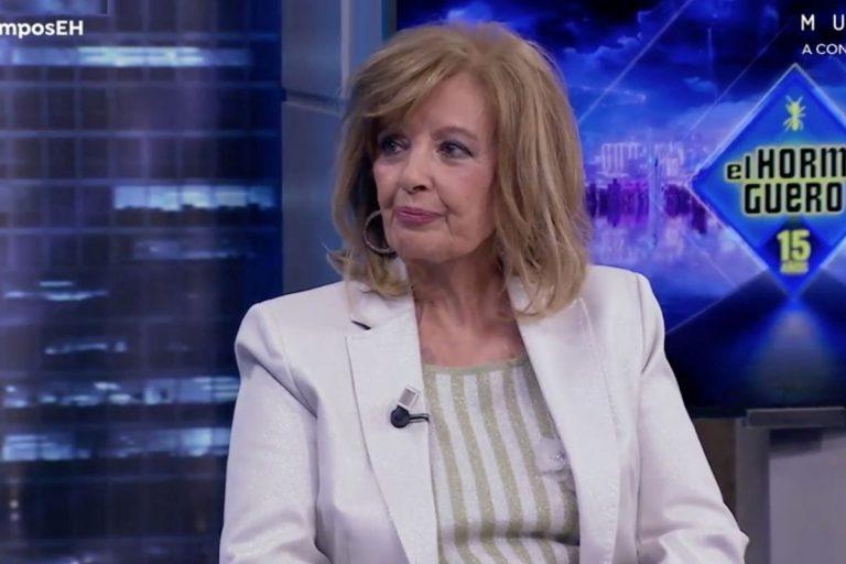 La inesperada confesión sexual de María Teresa Campos sobre Bigote Arrocet