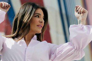 Anabel Pantoja y Raquel Bollo comparten la blusa de la temporada