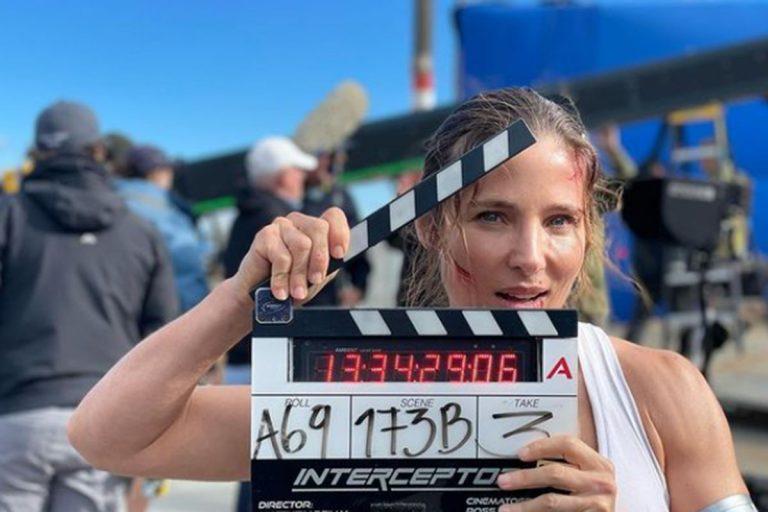 Elsa Pataky concluye el rodaje de la película 'Interceptor' para Netflix
