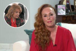El emotivo mensaje de Rocío Carrasco a María Teresa Campos: «Ella verá que se hace justicia»