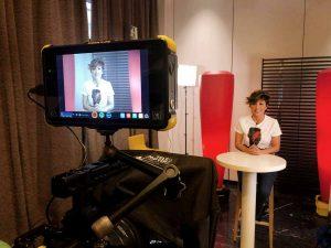 Sonsoles Ónega da el salto al cine y protagoniza un cortometraje