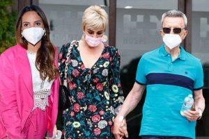 Ana María Aldón y Gloria Camila celebran la recuperación de Ortega Cano en Segovia