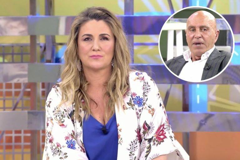 La pulla de Carlota Corredera a Kiko Matamoros tras su tenso cara a cara