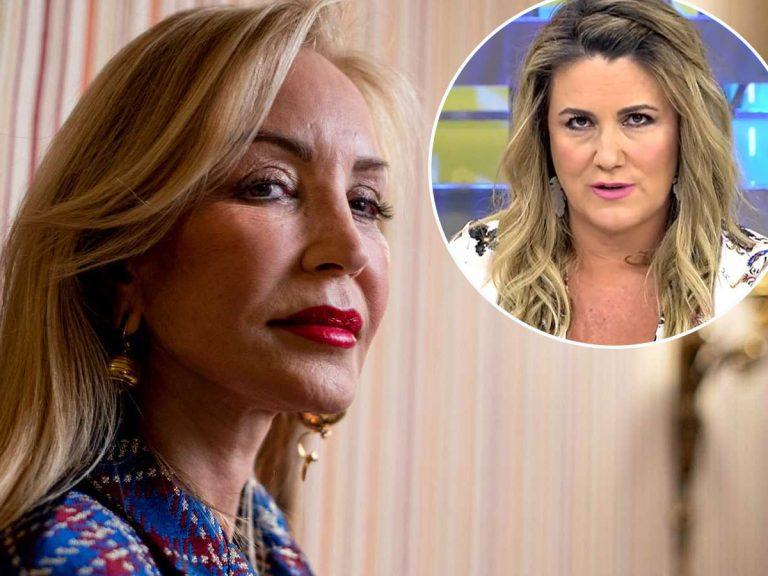 """Carmen Lomana critica con dureza a Carlota Corredera: """"Se cree iluminada por Dios"""""""