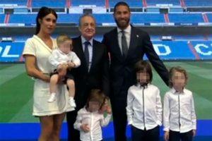 Pilar Rubio y sus hijos, el mejor apoyo de Sergio Ramos en su adiós al Real Madrid