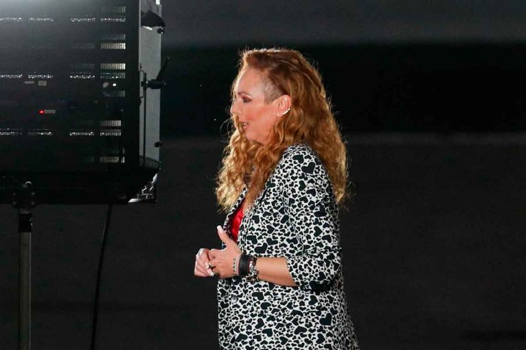 Todo lo que no se vio de la entrevista de Rocío Carrasco, acompañada por Fidel Albiac