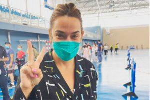 Toñi Moreno se vacuna contra el coronavirus: «Qué feliz estoy»