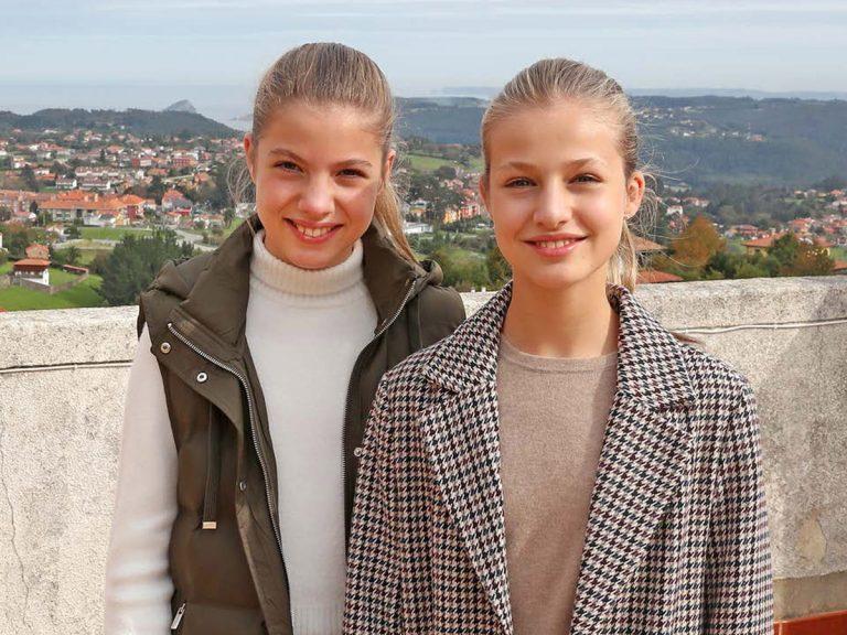 Leonor y Sofía: los gestos de dos adolescentes en busca de una mayor libertad