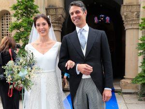 Marta Ortega y otros rostros conocidos derrochan estilo en la boda de Pedro Bravo y Carlota Pérez-Pla