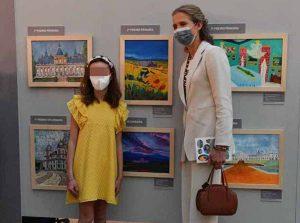 La infanta Elena vuelve al trabajo tras dos años apartada de la agenda de la Casa Real