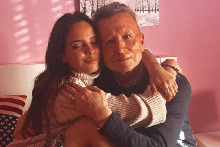 Gloria Camila, tremendamente preocupada por la operación de su padre, Ortega Cano