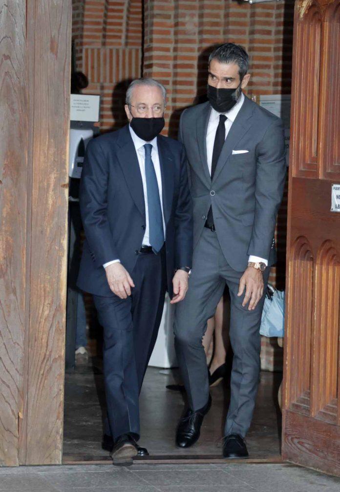 Florentino Pérez y Fernando Sanz