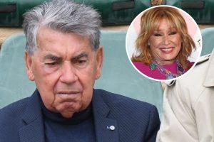 Manolo Santana no sabe de la muerte de Mila Ximénez: «No le han dicho nada»
