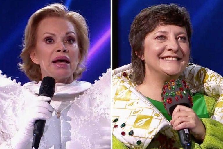Doble sorpresa en 'Mask Singer': Paloma San Basilio era el Ángel y Eva Hache, el Cactus