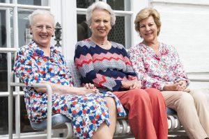 Margarita de Dinamarca empieza sus vacaciones con sus hermanas