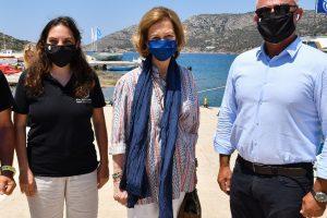 La Reina Sofía se escapa al sol de Grecia para el cumpleaños de su hermano Constantino