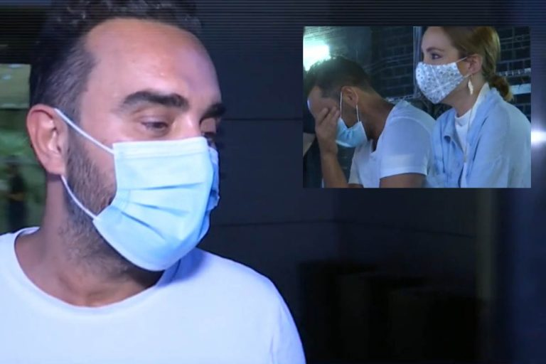Las lágrimas de Fidel Albiac durante la entrevista de Rocío Carrasco