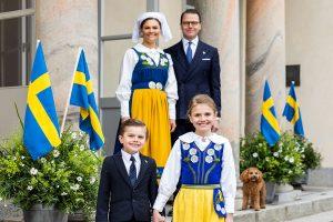 Los hijos de Victoria de Suecia, simpáticos protagonistas del Día Nacional