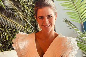 Amelia Bono ha encontrado en Zara el vestido blanco del verano