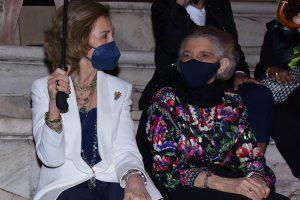 Las esperadas imágenes del reencuentro entre la Reina Sofía y su hermano Constantino en Atenas