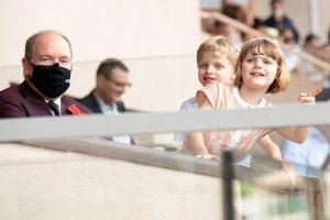 Jacques y Gabriella vuelven 'loco' a Alberto de Mónaco