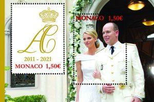 Alberto y Charlène de Mónaco ya tienen sus sellos por su 10º aniversario de boda