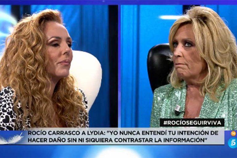 """Lydia Lozano se disculpa con Rocío Carrasco: """"Yo no te creí, pero ahora sí"""""""