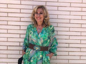 Rosa Benito se hace con el vestido más ideal de la marca favorita de Gema López