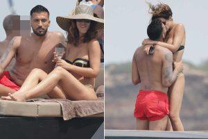 Tamara Gorro y Ezequiel Garay: pasión, risas y 'selfies' durante sus vacaciones en Ibiza
