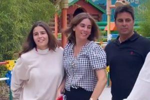 ¡Pura magia! El inolvidable viaje de Francisco Rivera y Lourdes Montes junto a Tana Rivera
