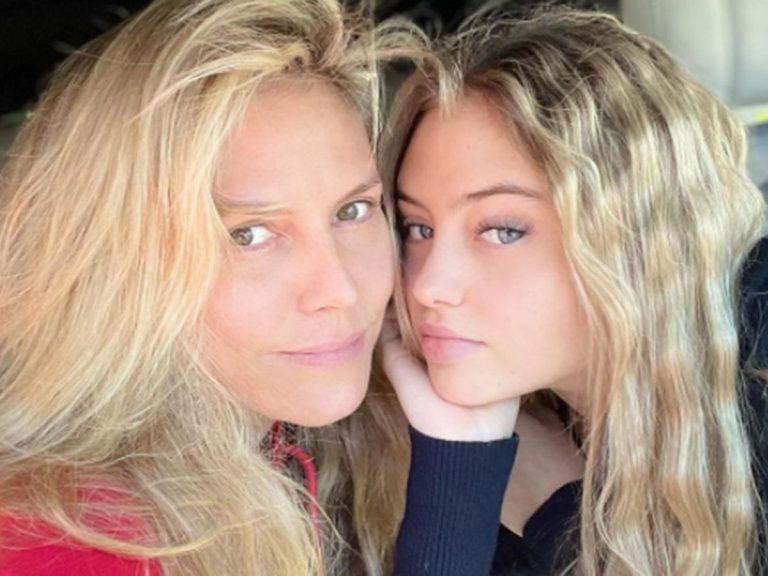 Heidi Klum demanda a su padre por la jugarreta que le ha hecho a su nieta Leni