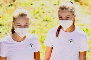 Leonor y Sofía, dos gemelas vestidas de aventureras