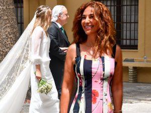 Mariló Montero reaparece en la boda de Ymelda Bilbao de la Cierva y Borja Mesa-Jareño
