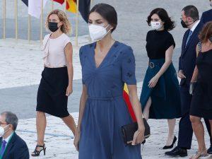 De la Reina a Yolanda Díaz o Ayuso: Todos los estilismos en el homenaje a las víctimas de la pandemia