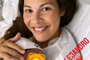 Jessica Bueno da a luz por cesárea a su tercer hijo, Alejandro