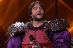 Joaquín Cortés, tras el disfraz de Erizo, gana la final de 'Mask Singer'