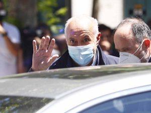 Primeras imágenes de José Luis Moreno en libertad tras dos noches en el calabozo
