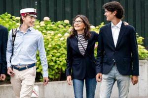 Love is in the air… Los príncipes Félix y Nicolás de Dinamarca (y también su madre), todos enamorados