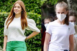 Leonor y Alexia de Holanda, la princesa clásica y la fashion en el internado de Gales (sin uniforme)