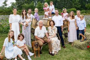¡La foto más esperada!: el reencuentro veraniego de toda la Familia Real sueca