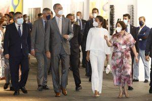 Felipe y Letizia siguen a rajatabla el protocolo en la inauguración de ARCO en Madrid