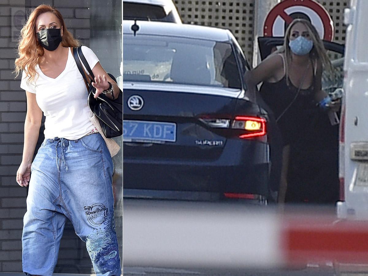 El representante de Rocío Flores evita en el último momento que se cruce  con Rocío Carrasco en las puertas de Mediaset