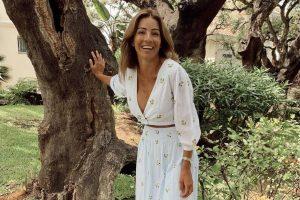 Virginia Troconis tiene los vestidos blancos más bonitos de esta temporada