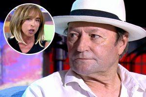 Amador Mohedano se cabrea con María Patiño por revelar una confidencia sobre Ortega Cano