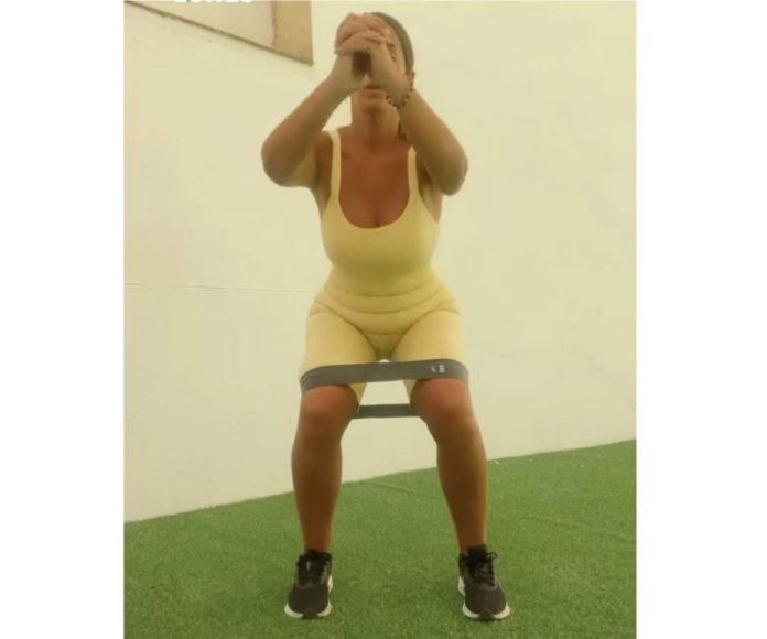 Anabel Pantoja ejercicio