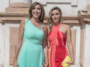 Paz Padilla deslumbra en 'La última cena' con un vestido de lentejuelas que ya llevó su hija